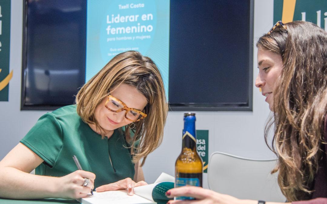 Txell Costa presenta dimarts a Pineda el seu nou llibre 'Liderar en femenino para hombres y mujeres'